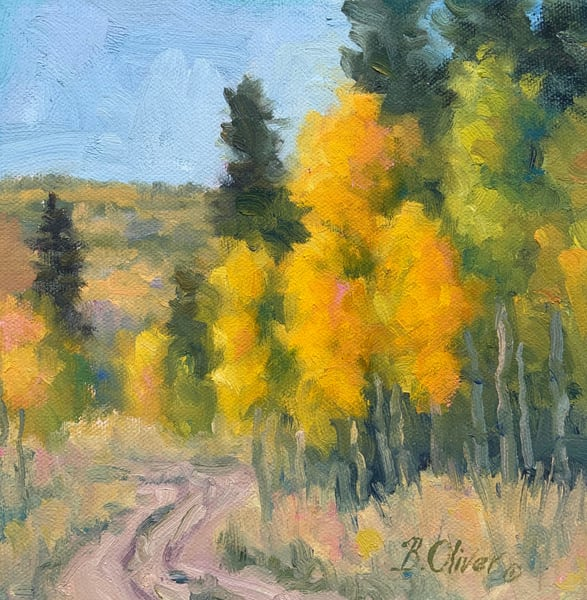 Road To Autumn Art | B. Oliver, Art