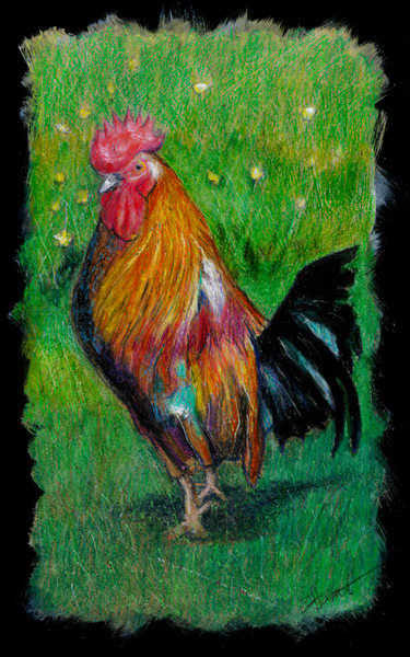 """Red Rooster"" Art 