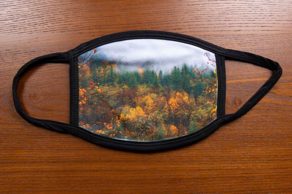 Fall Mask | Call of the Mountains Photography