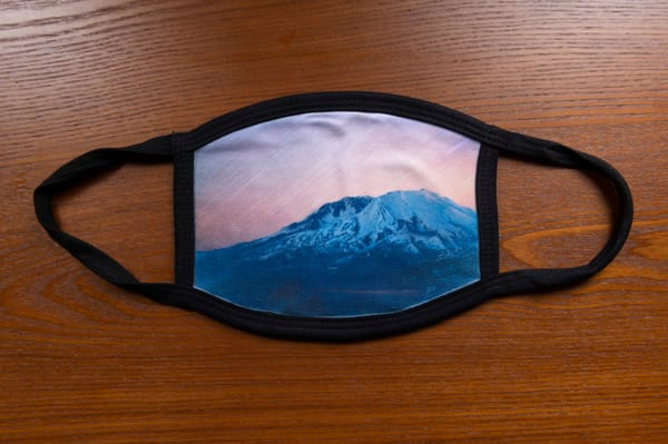 Golden Star Trails Mt St Helens Mask | Call of the Mountains Photography