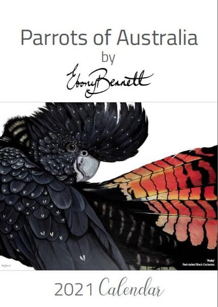 Parrots of Australia Calendar 2021 by Ebony Bennett