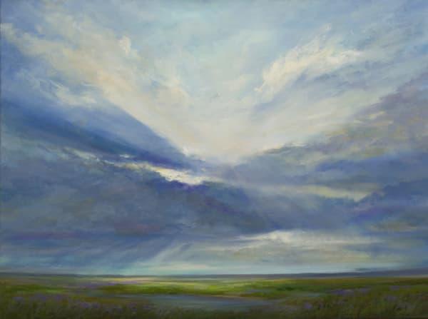 Heavenly Light Iv Art | SHEILA FINCH FINE ART