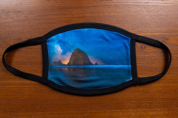 Ocean Of Stars Mask | Call of the Mountains Photography