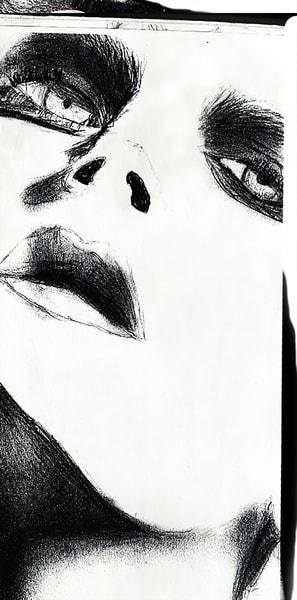 Amore - Pencil drawing