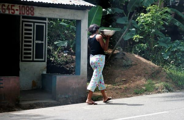 Roadside Woman Art | DocSaundersPhotography