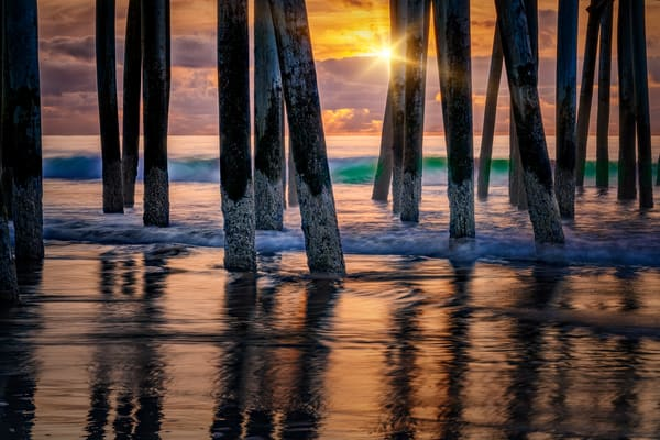 Old Orchard Beach Sunrise | Shop Photography by Rick Berk
