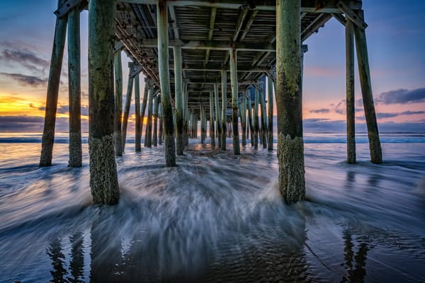 Under The Pier at Dawn | Shop Photography by Rick Berk