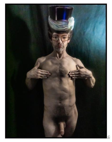 nude male masks masked darkroom
