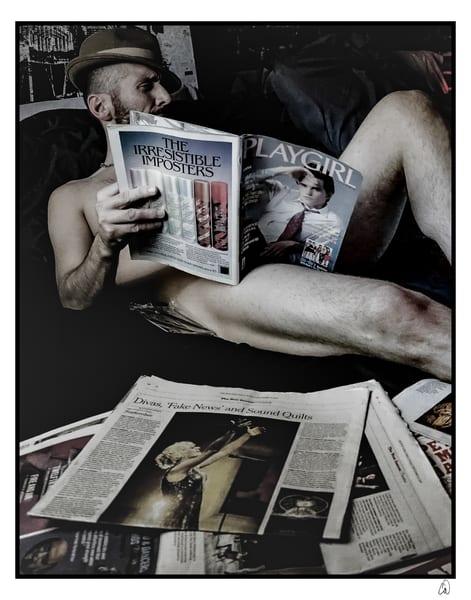 Morning Paper Photography Art   Cid Roberts Photography LLC