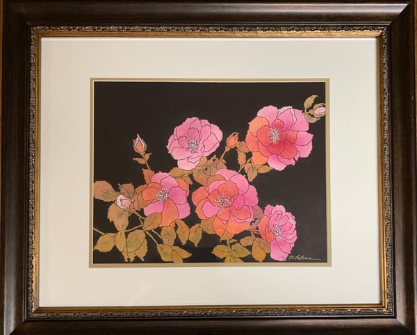Wild Roses Art | Mickey La Fave