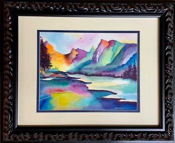 Rainbow Mountains Art | Mickey La Fave