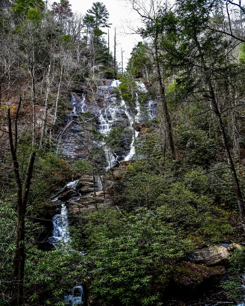 Duke Creek Falls Photography Art | N2 the Woods Photography - Nature and Wildlife Artwork