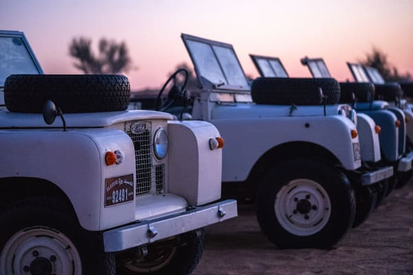 Land Rover Series 2 Photography Art | Tolowa Gallery