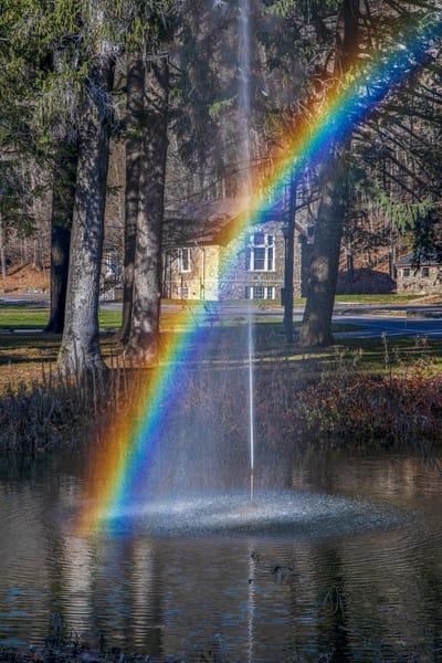 Iris Rainbow Photography Art | David Lawrence Reade