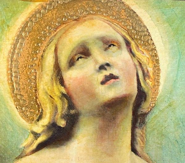 Golden Angel  Art | Maniscalco Art