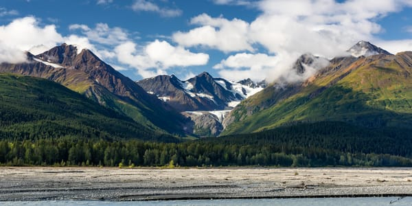 Klehini Mountain Vista Art | Alaska Wild Bear Photography