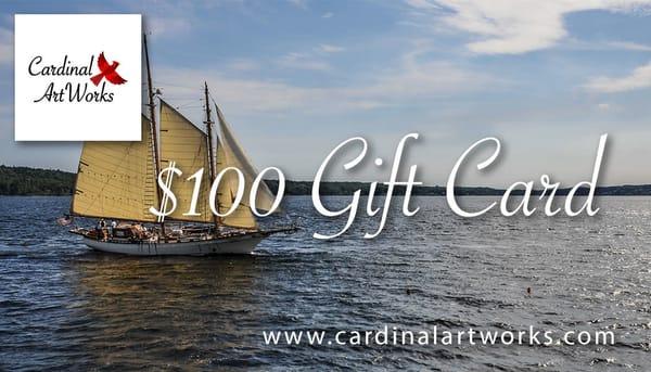$100 Gift Card | Cardinal ArtWorks LLC