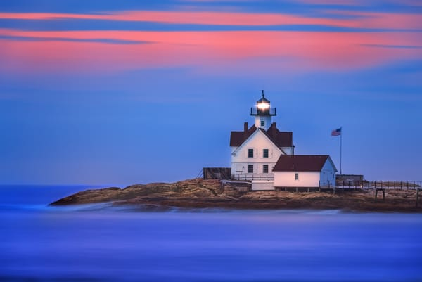 Cuckolds Light Station | Shop Photography by Rick Berk