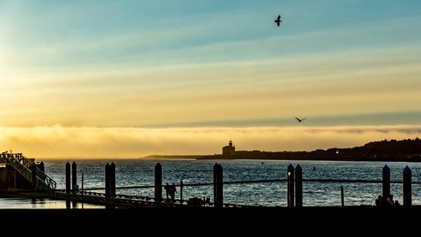 River Sunset Photography Art   Ron Olcott Photography