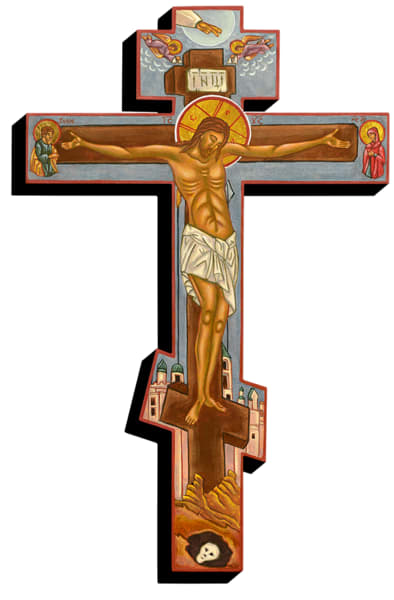 """Greek Crucifix"" Pf | Inkdrop Gallery"