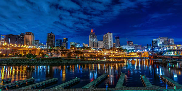 Raspberry Island And The City Of St Paul Photography Art | William Drew Photography