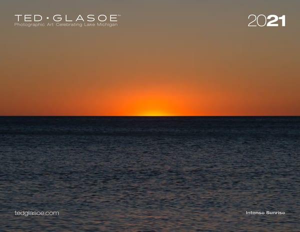 2021 Ted Glasoe Lake Michigan Calendar Photography Art | Ted Glasoe, Artist