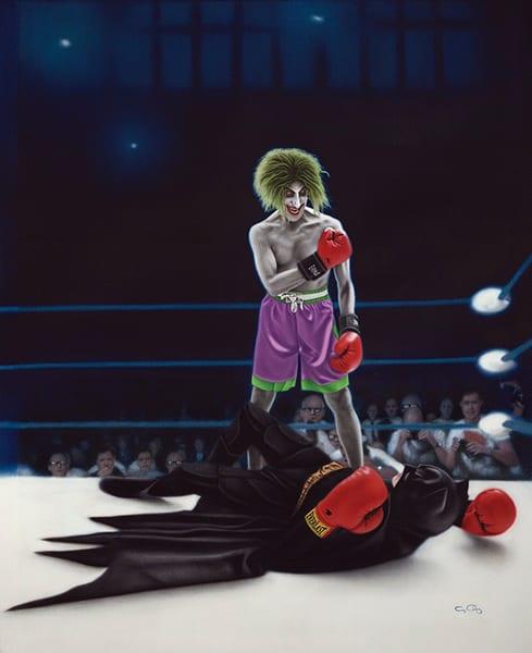 Gotham Fight Night Art   GeorgeCharriezArt