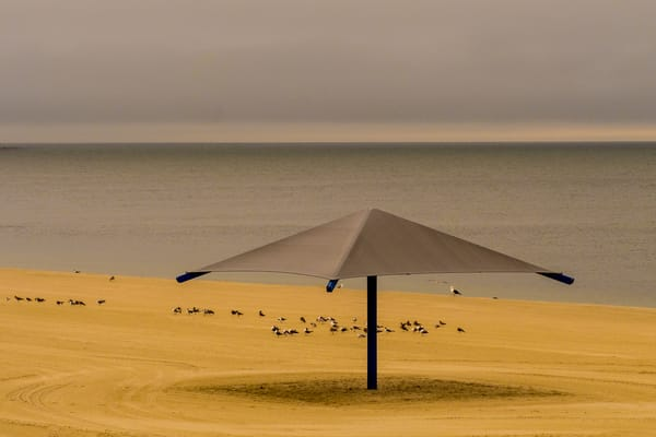 Yarmouth Beach Umbrella, Cape Cod Photography Art | Ben Asen Photography