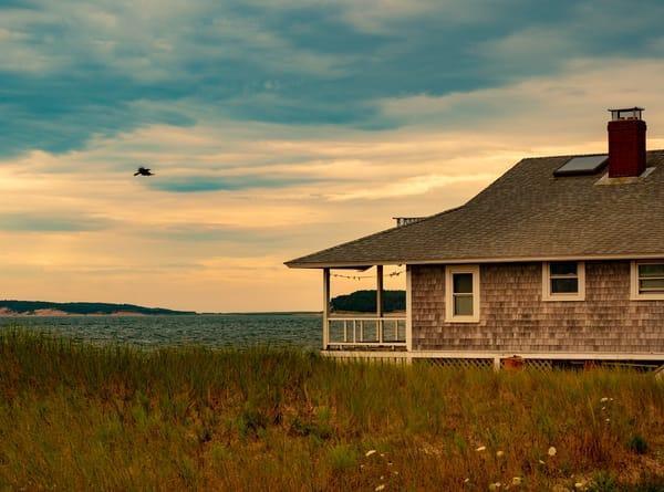 Wellfleet House, Cape Cod Photography Art | Ben Asen Photography