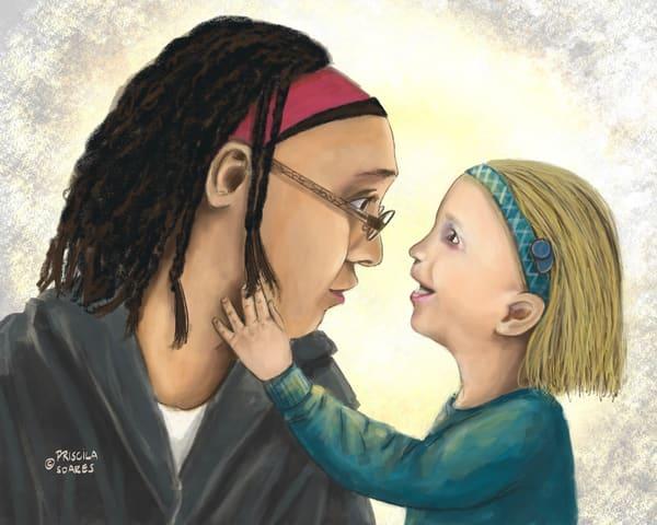 Why Mama Doesn't Wear A Hearing Aid? Art | Priscila Soares - MyLuckyEars
