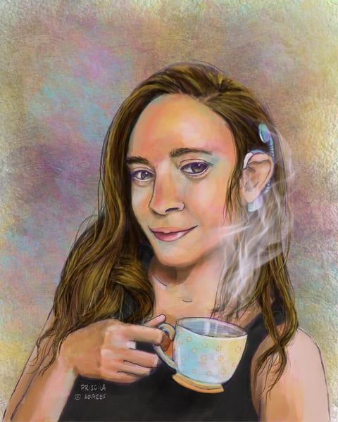 Tea Parties Art | Priscila Soares - MyLuckyEars