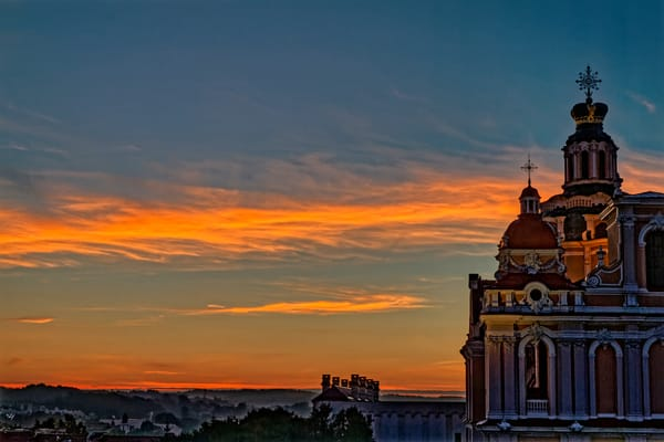 Vilnius Sunrise Photography Art | FocusPro Services, Inc.