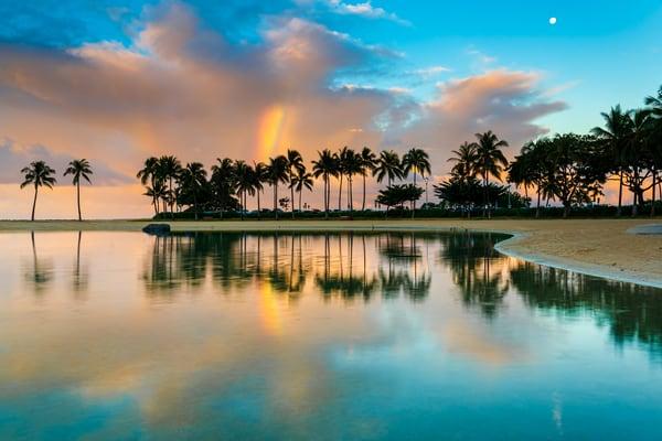 Hilton Lagoon Rainbow