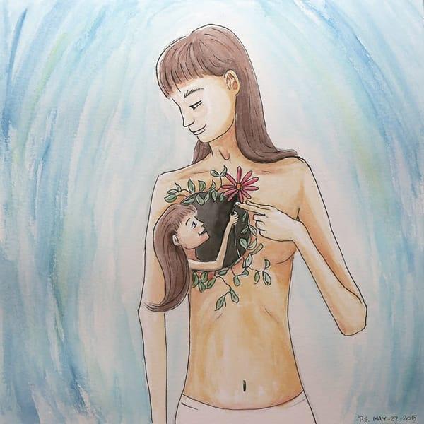 Inner Child Connection   Original Art | Priscila Soares - MyLuckyEars
