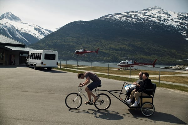 Skagway Bike Taxi  Art   DocSaundersPhotography