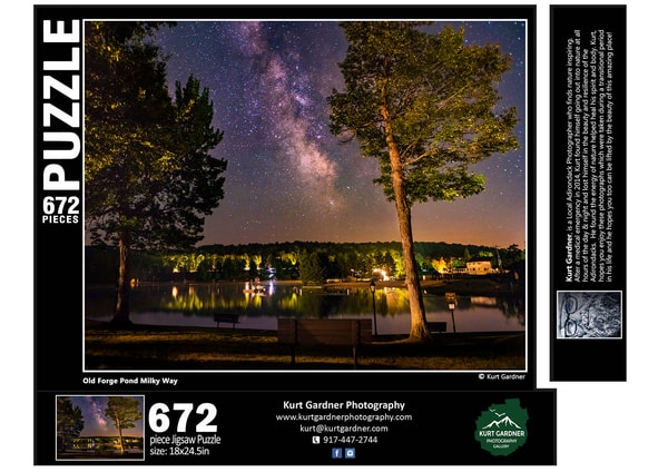 In Stock Old Forge Pond Milky Way | Kurt Gardner Photogarphy Gallery