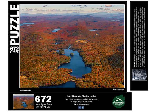 In Stock Rondaxe Lake Puzzle | Kurt Gardner Photogarphy
