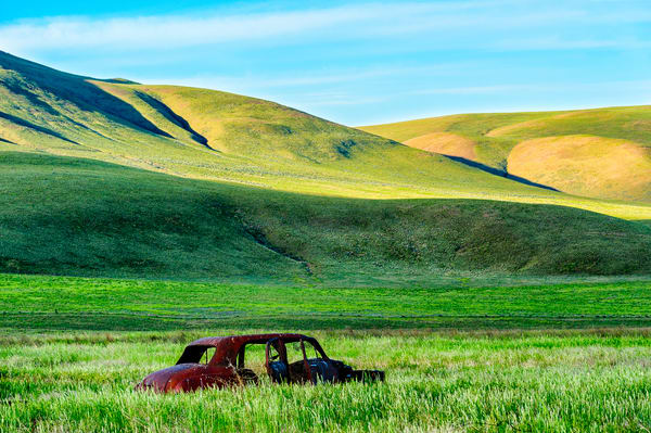 Old Car Out to Pasture, Yakima County, Washington, 2013