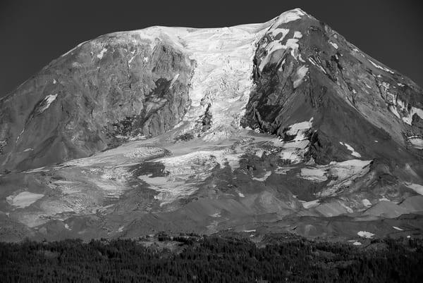 Adams Glacier, Mt Adams, Washington, 2007