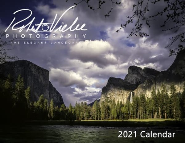 The Elegant Landscape Calendar 2021 by Photographer Robert Vielee