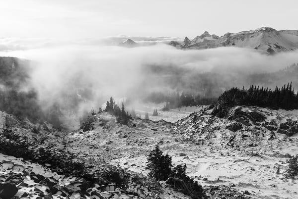 Incoming Clouds, Sunrise, Mount Rainier National Park, Washington, 2007