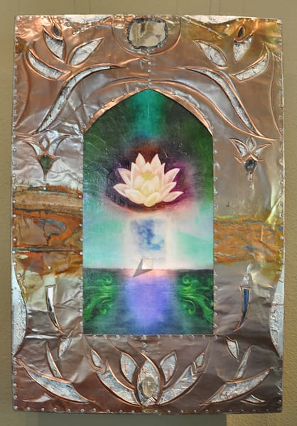 "Meditation Lotus, 30x40"" | Big Vision Art + Design"