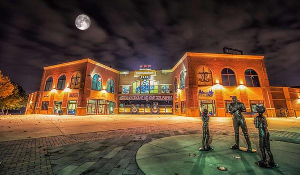 """Peoples Bank Stadium"" Photography Art   Inspired Imagez"
