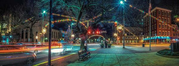 """Panoramic Of Christmas Over York City"" Photography Art   Inspired Imagez"