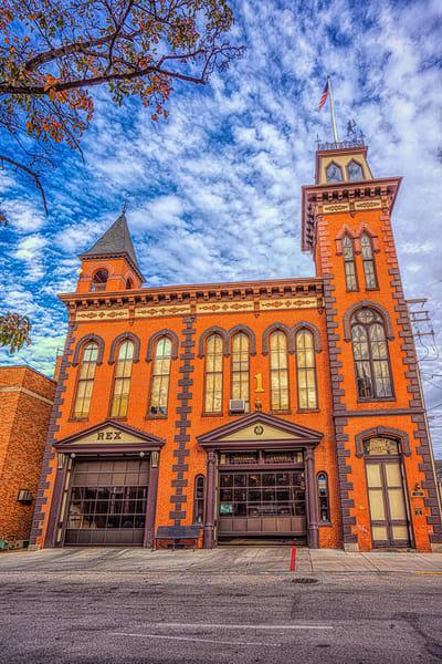 """York City Fire House"" Photography Art   Inspired Imagez"