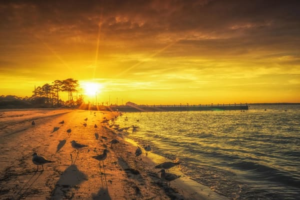 """""""Sunset Over Indian River Inlet"""" Photography Art   Inspired Imagez"""