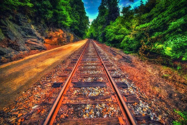 """Rail Trail"" Photography Art | Inspired Imagez"