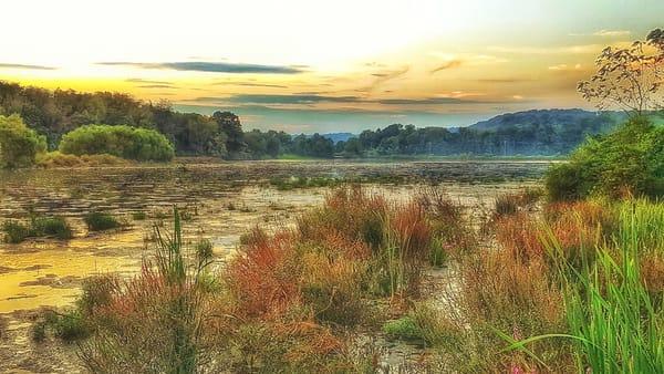"""Dusk Over The Wetlands"" Photography Art | Inspired Imagez"