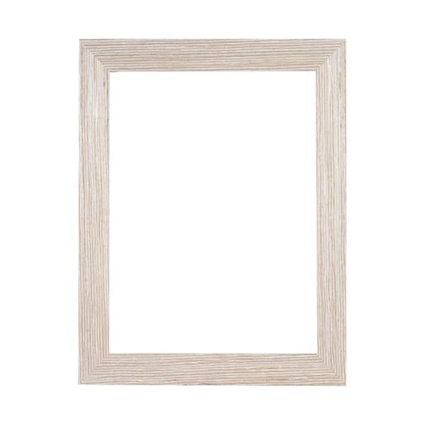 "1 1/2"" Whitewash Woodgrain Ready Made Frame | Pictures Plus"