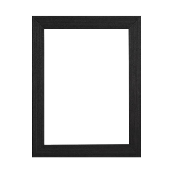 """1 1/2"""" Charcoal Woodgrain Ready Made Frame 